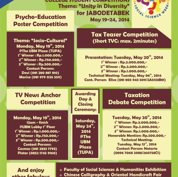Poster_1st_Social_Science_Week