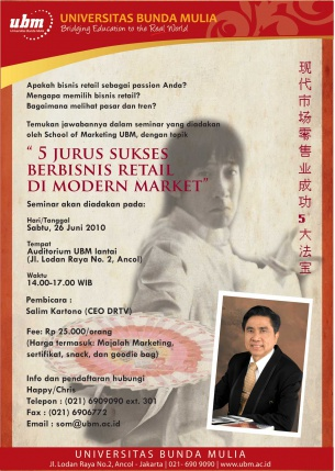 Seminar School of Marketing