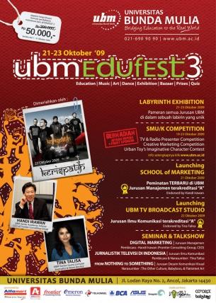 UBM Edufest 3 2009