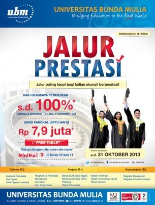 Beasiswa Universitas Bunda Mulia Jakarta