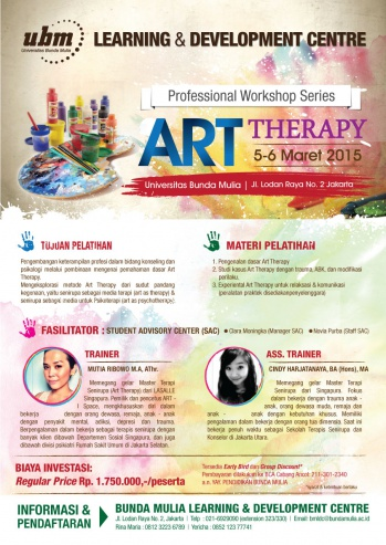 Profesional Workshop Series: ART THERAPY