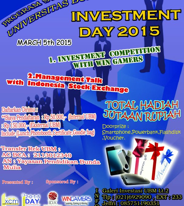 Investment Day 2015