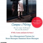 poster campus hiring Univ. Bunda Mulia