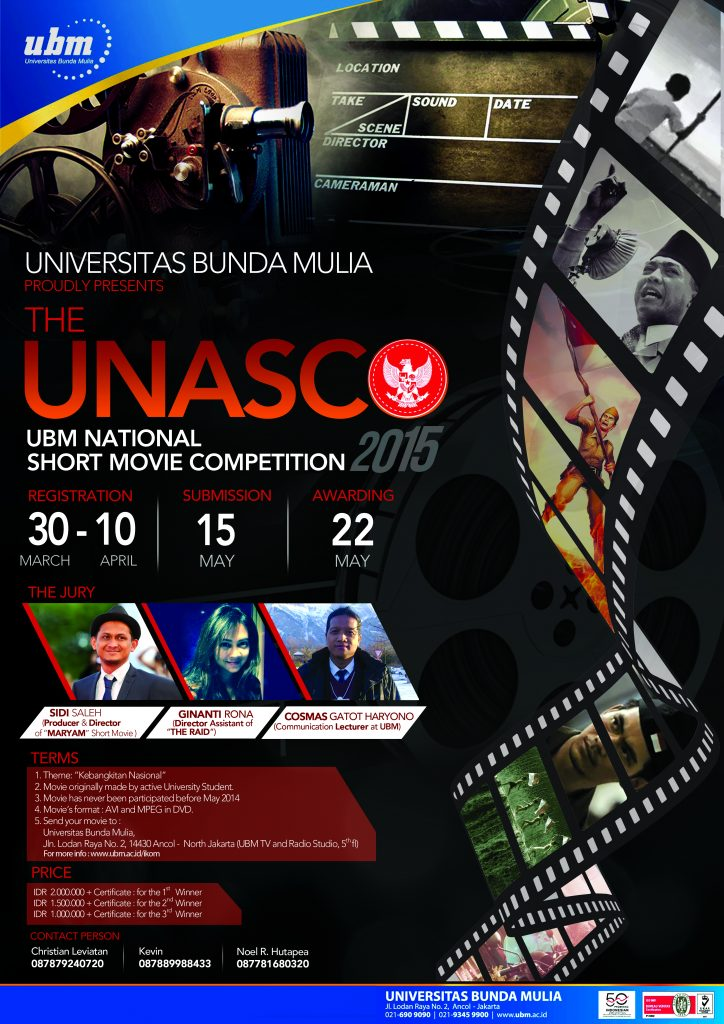 The UBM National Short Movie Competition 2015