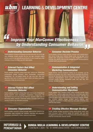 Profesional Workshop Series: Consumer Behavior Workshop
