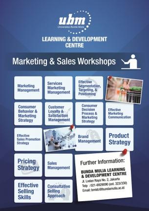 Profesional Workshop Series: Marketing & Sales Workshop