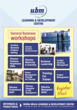 Profesional Workshop Series: General Business Workshop