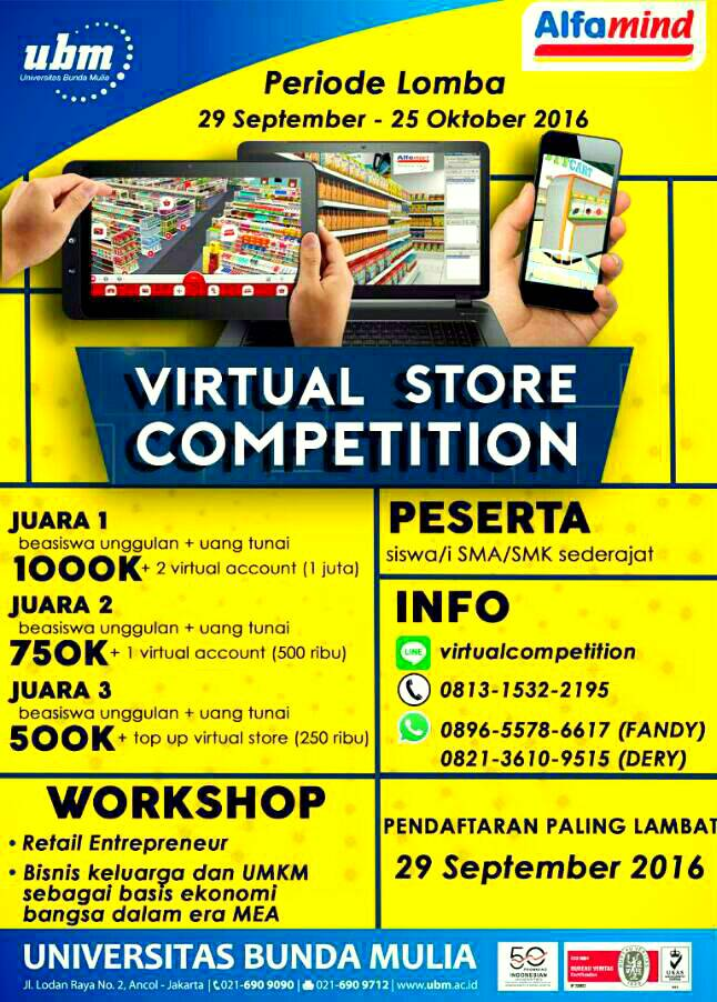 flyer virtual store