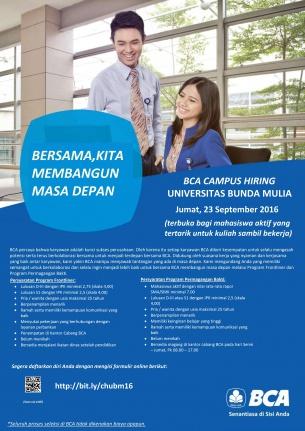 Campus Hiring BCA