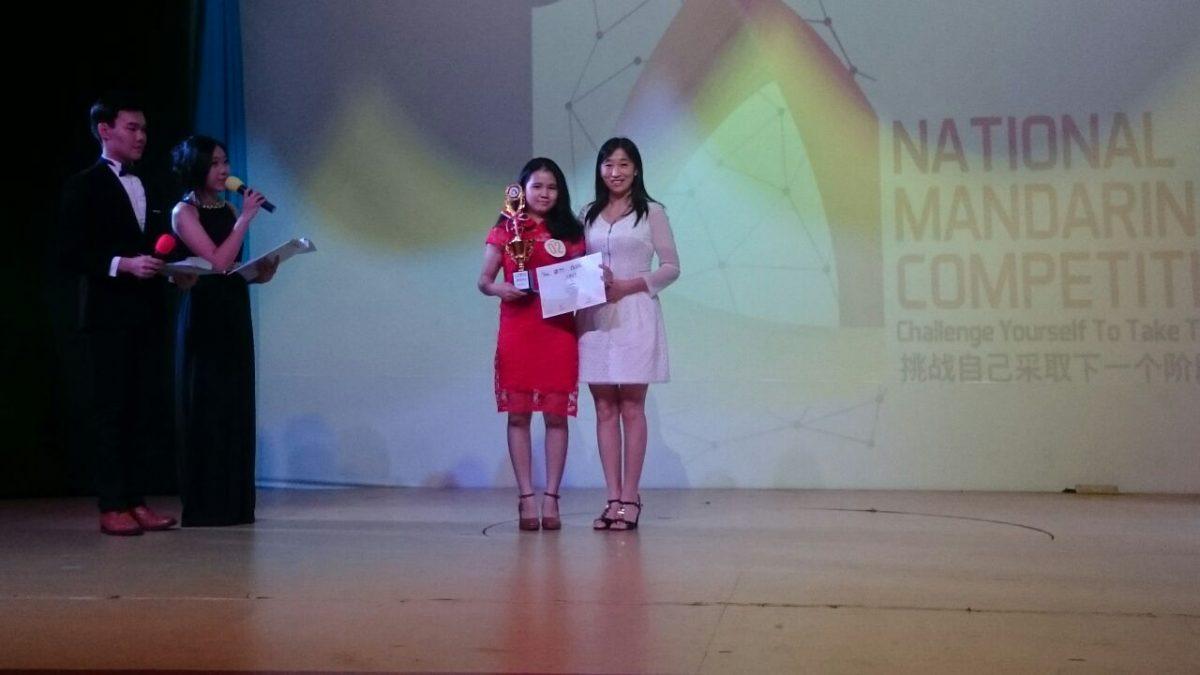 Lin Nyuk Juara 3 Lomba Pidato NMC
