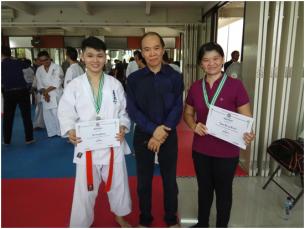 UBM Raih Juara 2 Kata Karate Kyokushin antar Dojo IKKA