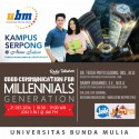 """Good Communication for Millennial Generation"" With Jak FM Listeners"