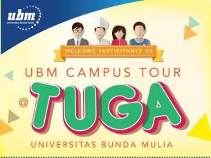 """Motivasi para Siswa: UBM gelar """"Grand Kampus Tour UBM"""""""