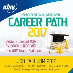 UBM Bekali para Wisudawan di Career Path 2017 dan Job Fair UBM 2017