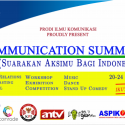 Suarakan Aksimu Bagi Indonesia #UBMCOMMUNICATIONSUMMIT2