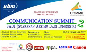 Suarakan Aksimu Bagi Indonesia #UBMCOMMUNICATIONSUMMIT2