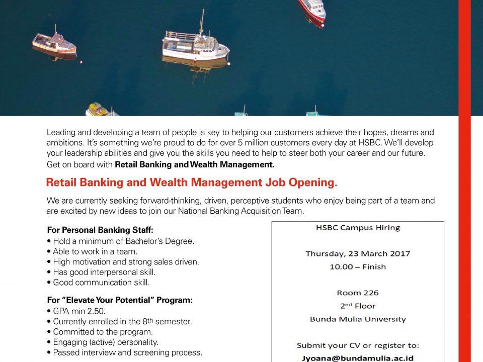 Recruitment HSBC