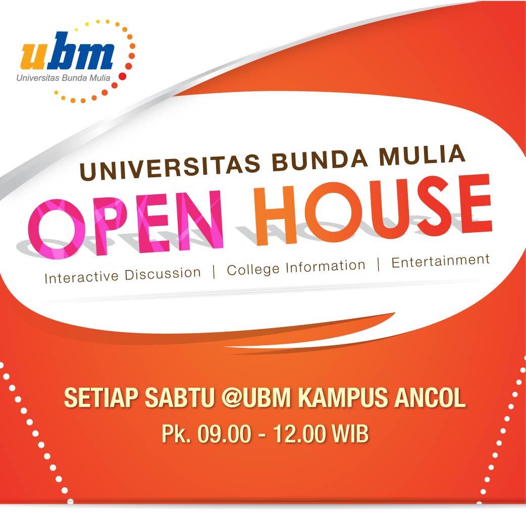 Ayo Kunjung Open House UBM Kampus Ancol!