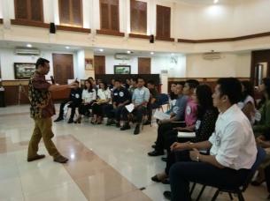 UBM Gelar pelatihan MICE untuk Finalis Abang None Jakarta Pusat 2017