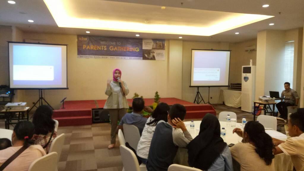 UBM Parents Gathering Ambon dan Belitung 22 April 2017
