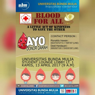 """""""BLOOD FOR ALL"""""""
