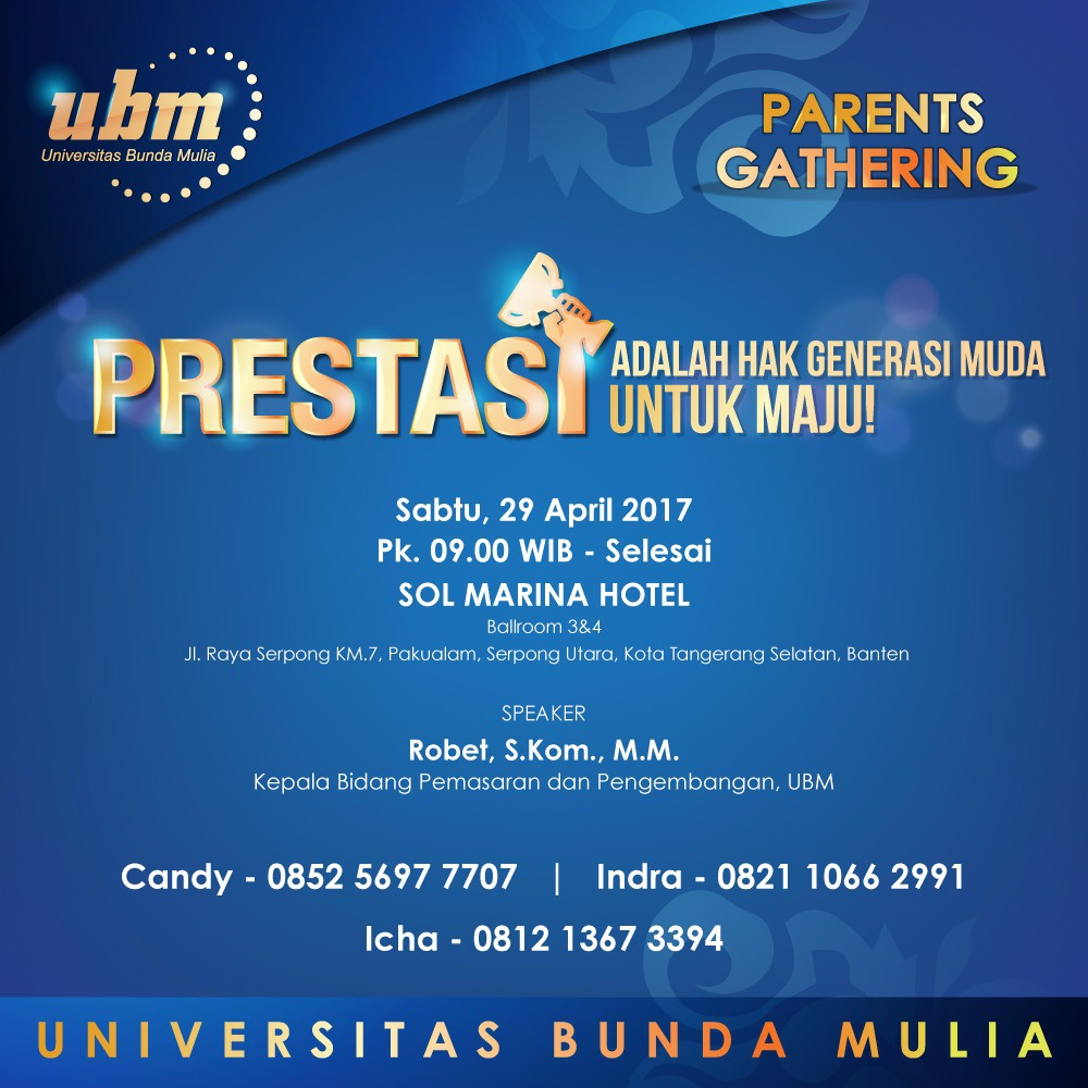 Parents Gathering UBM @Serpong