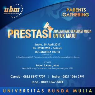 Parents Gathering UBM @Serpong