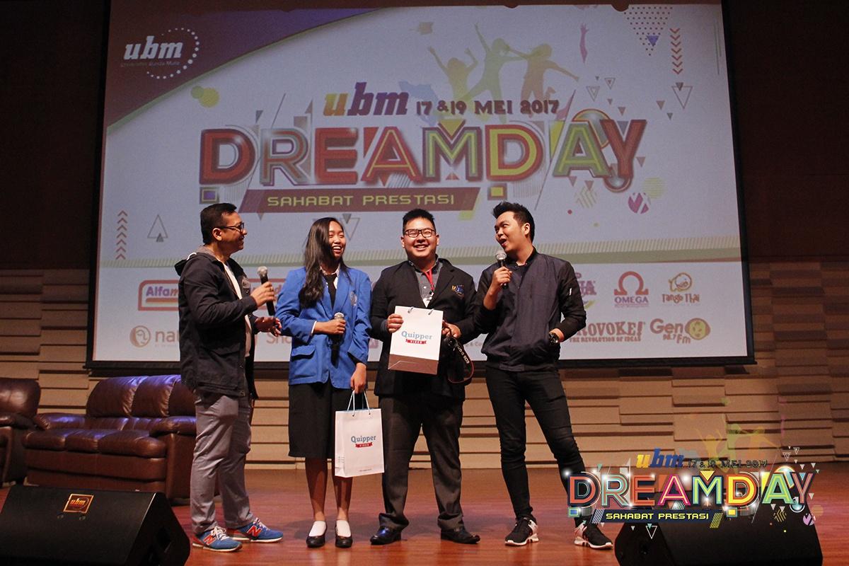 UBM Dreamday 2017: Sahabat Prestasi For Indonesia