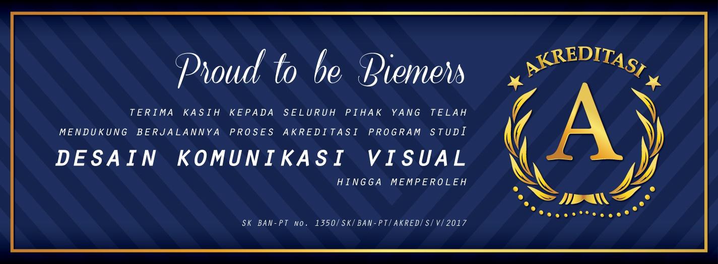 Desain Komunikasi dan Visual UBM Raih Akreditasi A