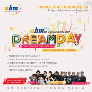 Dream Day UBM Kampus Serpong @Alam Sutera : CREATIVEPRENEURSHIP