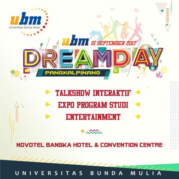 UBM DREAMDAY 2017 di Pangkal Pinang