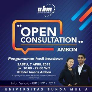 Universitas Bunda Mulia Goes to Ambon