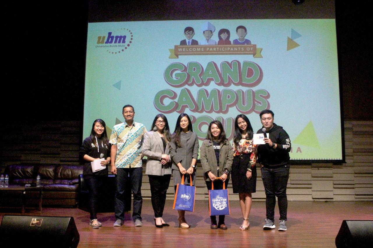 Grand Campus Tour 2018 Universitas Bunda Mulia