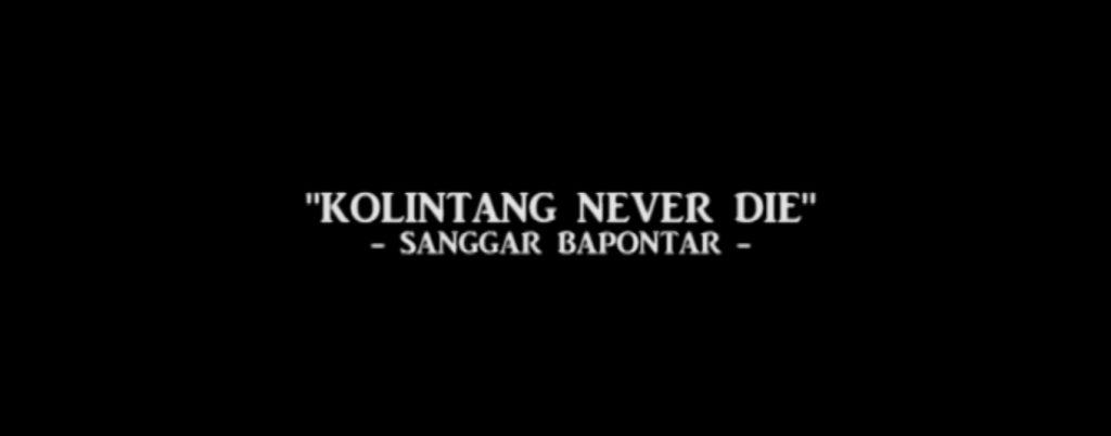 kolintang never die