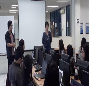 KLIIIK…Mahasiswa/i Semester Akhir Ikuti Pelatihan Ms Word Format Skripsi