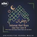 Universitas Bunda Mulia Mengucapkan Selamat Hari Raya Idul Fitri 1439 H