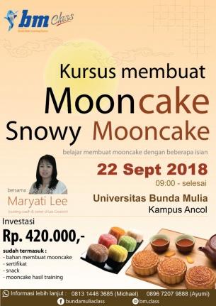 BAKING CLASS: MOON CAKE