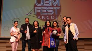 """UBM FEST 2018 DOBRAK GENERASI MILLENIAL  DENGAN GERAKAN PEMERINTAH REVOLUSI INDUSTRI 4.0  """"MAKING INDONESIA 4.0"""""""
