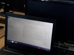 SHORT TRAINING MICROSOFT OFFICE:WORD DI BINA DARMA SWAKARYA, CIKOKOL