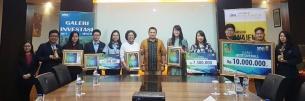 Galeri Investasi Universitas Bunda Mulia Berhasil Meraih Juara 1 Best Overall dan Best Transaction pada  Galeri Investasi Idol 2018