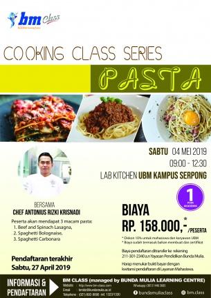 Cooking Class Series: PASTA