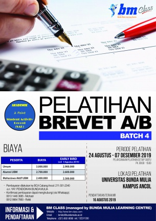 Brevet AB Batch 4 (DIBUKA)