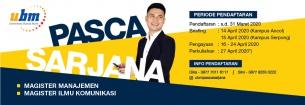 Pembukaan Pendaftaran Program Magister Universitas Bunda Mulia Tahun Ajaran 2020