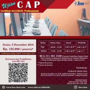 Certified ACCURATE Professional (CAP)