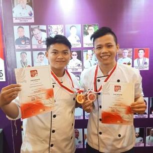 Siswa Siswi Program Studi Hospitality dan Pariwisata Universitas Bunda Mulia   Raih 10 Medali di Ajang The 3rd LA Cuisine Competition 2019