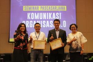 Seminar Pascasarjana Universitas Bunda Mulia Tegaskan Pentingnya Komunikasi Organisasi di Era Revolusi Industri 4.0