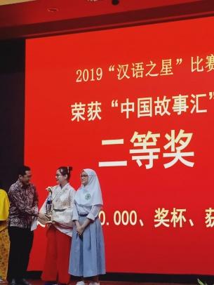 Program Studi Bahasa dan Budaya Universitas Bunda Mulia Juarai Star of Chinese 2019