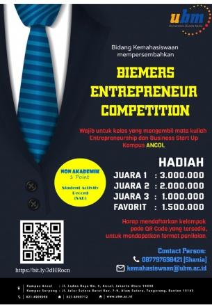 Biemers Entrepreneur Competition, Ajang Kreatif Biemers Saat  Menjalani Masa Online Learning